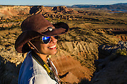 Participants from the National Geographic Expeditions workshop hone thier skills at New Mexico's Historic Ghost Ranch.