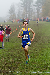2012 High School Western Maine Regional Cross Country Championships, Class C Boys Jack Pierce, Merriconeag School, Freeport, Maine,
