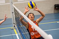 22-09-2017 NED: Training zitvolleybalsters Oranje 2017-2018, Leersum<br /> Nederland bereidt zich voor op het komende EK zitvolleybal / Hong Zhao #12