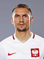 Uefa - World Cup Fifa Russia 2018 Qualifier / <br /> Poland National Team - Preview Set - <br /> Artur Jedrzejczyk