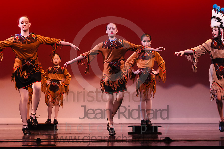 Students of the Payne Academy of Performing Arts on stage in the Dress Rehearsal for Coppelia, Neverland, and Amazing Grace.<br /> <br /> &quot;Neverland&quot;