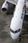 Israel, Ben-Gurion international Airport Sun D'Or International Airlines Boeing 757