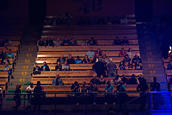 Spectators, during the WBO-European Champion Title, on October 17, 2014 in Arena Tabor, Maribor, Slovenia. Photo by Gregor Krajncic / Sportida.com