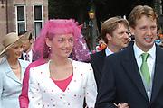 His highness prince Pieter-Christiaan of Oranje Nassau, of Vollenhoven and Ms drs. A.T. van Eijk get married  in the Great or St Jeroens Church in Noordwijk. <br /> <br /> <br /> Zijne Hoogheid Prins Pieter-Christiaan van Oranje-Nassau, van Vollenhoven en mevrouw drs. A.T. van Eijk treden in het (kerkelijk) huwelijk in de Grote St. Jeroenskerk in Noordwijk<br /> <br /> On the photo/Op de foto:<br /> <br /> <br /> <br /> Zijne Hoogheid Prins Floris van Oranje-Nassau, van Vollenhoven <br /> Mevrouw A.L.A.M. Söhngen