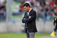 Hubert FOURNIER - 09.05.2015 -  Caen / Lyon  - 36eme journee de Ligue 1<br />Photo : Vincent Michel / Icon Sport