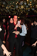 SUSIE CAVE, NICK CAVE, Nick Cave and the Bad Seeds with The Vampire's Wife and Matchesfashion.com party to celebrate the end of their 2017 World tour. Lou lou's. Hertford St. Mayfair.