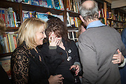 HELEN FIELDING; HELENA BONHAM-CARTER; VIRGINIA BONHAM-CARTER; HARRY ENFIELD,  Allie Esiri's The Love Book launch party , Daunt Books <br /> 83 Marylebone High Street, London. 5 February 2014