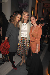 Left to right, DAISY DE VILLENEUVE, JAN DE VILLENEUVE and POPPY DE VILLENEUVE at a preview of Garrard's new collections and celebrates a Kaleidoscope of Colour at Garrard, 24 Albemarle Street, London on 10th May 2007.<br /><br />NON EXCLUSIVE - WORLD RIGHTS
