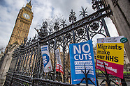 4 Mar 2017 - Thousands march through London in National protest to 'Save the NHS'.