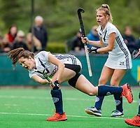 BLOEMENDAAL - Frances Westenberg (Pin)   , Libera hoofdklasse hockey Bloemendaal-Pinoke (0-0). COPYRIGHT KOEN SUYK