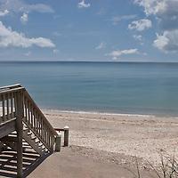Florida beach scene.