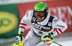 "Michael Matt (AUT) reacts after the 2nd Run of FIS Alpine Ski World Cup 2017/18 Men's Slalom race named ""Snow Queen Trophy 2018"", on January 4, 2018 in Course Crveni Spust at Sljeme hill, Zagreb, Croatia. Photo by Vid Ponikvar / Sportida"