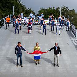 30-08-2020: Wielrennen: BMX - Road to Tokyo & WK 2021: Papendal<br /> Op 10 en 11 oktober strijden de BMX'ers om de titel op Papendal