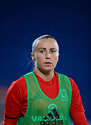 CARDIFF, WALES - Friday, November 24, 2017: Wales' Natasha Harding during the pre-match warm-up before the FIFA Women's World Cup 2019 Qualifying Round Group 1 match between Wales and Kazakhstan at the Cardiff City Stadium. (Pic by David Rawcliffe/Propaganda)