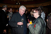 RICHARD GRIFFITHS; JO BRAND, The South Bank Sky Arts Awards , The Dorchester Hotel, Park Lane, London. January 25, 2011,-DO NOT ARCHIVE-© Copyright Photograph by Dafydd Jones. 248 Clapham Rd. London SW9 0PZ. Tel 0207 820 0771. www.dafjones.com.
