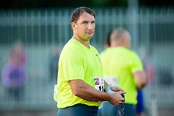 Primoz Kozmus of Slovenia during Hammer throw at 19th International EA Classic Meeting in Honor of Miners' Day Velenje 2014 on July 1, 2014 in Stadium Velenje, Slovenia. Photo By Vid Ponikvar / Sportida