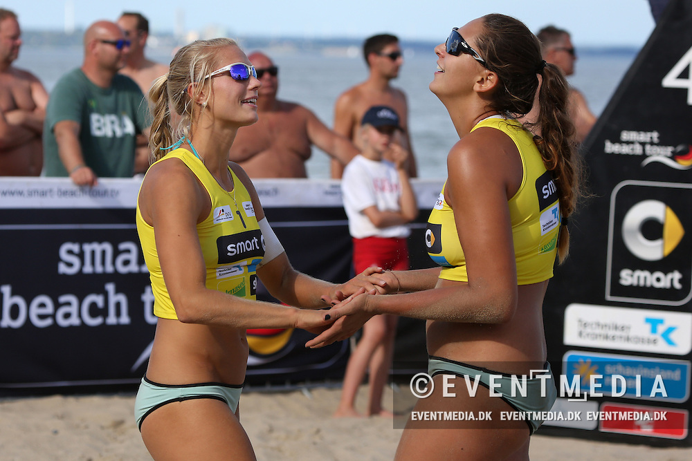 German Beachvolleyball Championships 2016 at Timmendorfer Strand, Germany, September 9, 2016. (Allan Jensen/EVENTMEDIA).