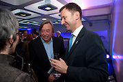 DAVID MELLOR; JEREMY HUNT, LA Philharmonic reception, Fountain room, Barbican. 27 January 2011 -DO NOT ARCHIVE-© Copyright Photograph by Dafydd Jones. 248 Clapham Rd. London SW9 0PZ. Tel 0207 820 0771. www.dafjones.com.