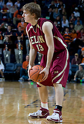 Elon guard Chris Long (13) in action against Virginia.  The Virginia Cavaliers men's basketball team defeated the Elon Phoenix 91-61  at the John Paul Jones Arena in Charlottesville, VA on December 22, 2007.