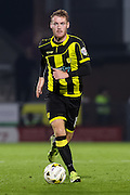 Burton Albion midfielder Tom Naylor looks for a pass during the Sky Bet League 1 match between Burton Albion and Crewe Alexandra at the Pirelli Stadium, Burton upon Trent, England on 20 October 2015. Photo by Aaron Lupton.