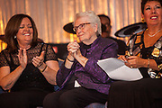 Sister Betty Smith, RSM, Mercy Hospital & Medical Center Board of Directors, center, at the Mercy Hospital & Medical Center's 51st Dinner Dance Gala at the Hilton Chicago on September 28, 2018. Dr. Robert M. Gasior and Honorable Patrick Huels were honored at the event, emceed by Kristen Nicole, anchor at Fox 32 Chicago. Proceeds will benefit Cardiovascular Services including screening, intervention, rehabilitation, wellness and prevention programs for patients and families. (Photo:Natalie Battaglia)
