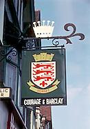 Pub Signs, The Dorset Arms, Tonbridge, Kent, Britain