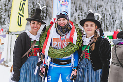 19.01.2019, Loipe Obertilliach, AUT, 45. Dolomitenlauf, Classicrace, im Bild 1. Platz (42km) Annika Sjoestroem (FIN) // during the 45th Dolomitenlauf Classicrace at Obertilliach, Austria on 2019/01/19, EXPA Pictures © 2019 PhotoCredit: EXPA/ Dominik Angerer
