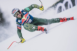 25.01.2020, Streif, Kitzbühel, AUT, FIS Weltcup Ski Alpin, Abfahrt, Herren, im Bild Travis Ganong (USA) // Travis Ganong of the USA in action during his run for the men's downhill of FIS Ski Alpine World Cup at the Streif in Kitzbühel, Austria on 2020/01/25. EXPA Pictures © 2020, PhotoCredit: EXPA/ JFK