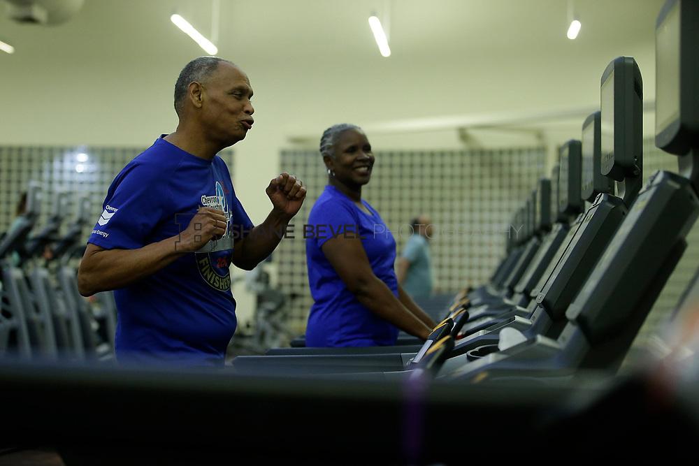 11/8/17 7:37:17 PM --  Charles and Shonda at Healthzone at SFHS. <br /> <br /> Photo by Shane Bevel