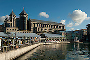 Le Caudan. The waterfront of the city of Port Louis.