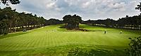 NUNSPEET - Dubbele green, Noord en Oost 9. Golfbaan RIJK VAN NUNSPEET, COPYRIGHT KOEN SUYK