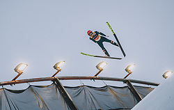 29.02.2020, Salpausselkae Hill, Lahti, FIN, FIS Weltcup Ski Sprung, Herren, Teamspringen, im Bild Stefan Huber (AUT) // Stefan Huber of Austria during the men's team event of FIS Ski Jumping World Cup at the Salpausselkae Hill in Lahti, Finland on 2020/02/29. EXPA Pictures © 2020, PhotoCredit: EXPA/ JFK