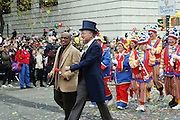 26 November 2009, NY, NY-l to r: Robin Hall and Al Roker at The 2009 Macy's Day Parade held on November 26, 2009 in New York City. Terrence Jennings/Sipa