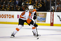 April 5, 2014: Philadelphia Flyers Claude Giroux (28) past the blue line. The Boston Bruins defeated the Philadelphia Flyers 5-2 in a regular season NHL Eishockey Herren USA game at TD Garden in Boston, Massachusetts. NHL Eishockey Herren USA APR 05 Flyers at Bruins <br />