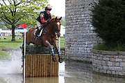 Louisa Lockwood on Diamond Ructions during the International Horse Trials at Chatsworth, Bakewell, United Kingdom on 13 May 2018. Picture by George Franks.