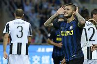 esultanza gol Mauro Icardi goal celebration<br /> Milano 18-09-2016 Stadio Giuseppe Meazza - Football Calcio Serie A Inter - Juventus. Foto Daniele Buffa / Image Sport / Insidefoto
