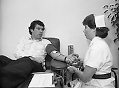 1984 - Tony Ward,Irish Rugby International,Gives Blood