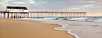 Picture of the Outer Banks Kitty Hawk Fishing Pier.