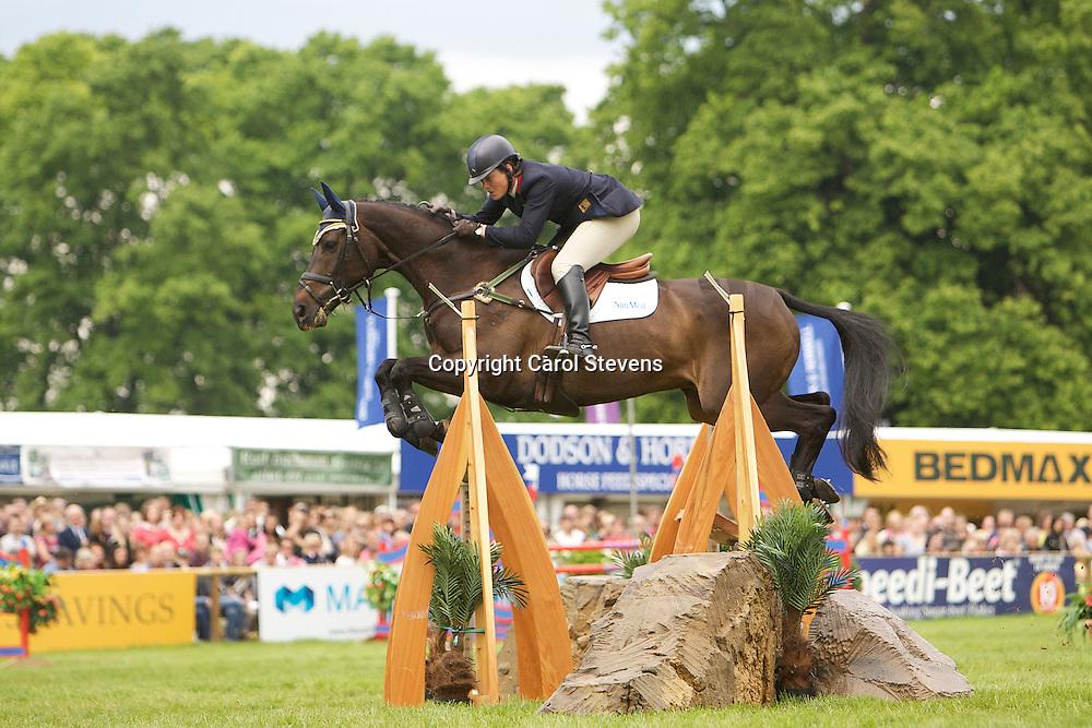 Equi-Trek Bramham International Horse Trials 2012 CCI3*<br /> Lucy Wiegersma and Granntevka Prince