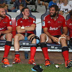 DURBAN, SOUTH AFRICA - APRIL 04: General views during the Super Rugby match between Cell C Sharks and Crusaders at Growthpoint Kings Park on April 04, 2015 in Durban, South Africa. (Photo by Steve Haag/Gallo Images)