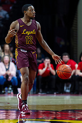 NORMAL, IL - January 19: Marquise Kennedy during a college basketball game between the ISU Redbirds and the Loyola University Chicago Ramblers on January 19 2020 at Redbird Arena in Normal, IL. (Photo by Alan Look)