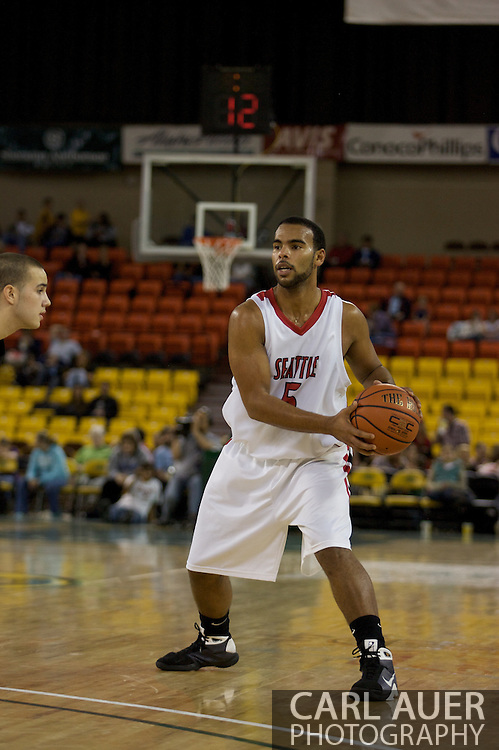 November 29th, 2008:  Anchorage, Alaska - Seattle University's Shaun Burl (5) in the third place game on the final day of the Great Alaska Shootout.