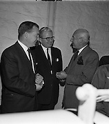 26/09/1962<br /> 09/26/1962<br /> 26 September 1962<br /> Opening of Earl Bottlers Ltd. at South Earl Street, Dublin. Minister for Justice Charles Haughey opened the new premises that produced Sandyman port. Mr Haughey on left.