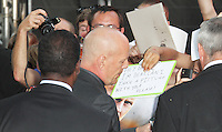 Bruce Willis, Red 2 European Film Premiere, Empire cinema Leicester Square, London UK, 22 July 2013, (Photo by Richard Goldschmidt)