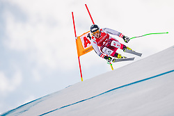 27.01.2019, Streif, Kitzbühel, AUT, FIS Weltcup Ski Alpin, SuperG, Herren, im Bild Johannes Kroell (AUT) // Johannes Kroell of Austria in action during his run in the men's Super-G of FIS ski alpine world cup at the Streif in Kitzbühel, Austria on 2019/01/27. EXPA Pictures © 2019, PhotoCredit: EXPA/ Johann Groder: EXPA