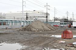 Construction Progress Railroad Station Fairfield Metro Center - Site visit 19 of once per month periodic photography