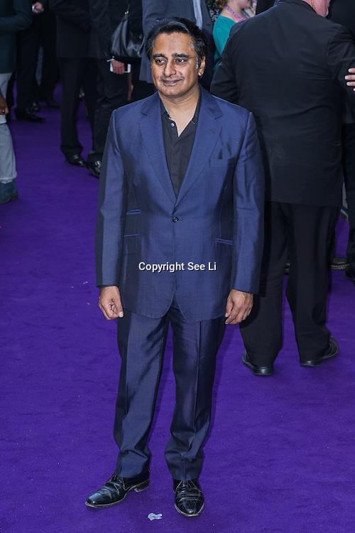 London,England,UK : 15 June 2016 : Sanjeev Bhaskar attend the Disney's Aladdin Opening Night at the Prince Edward Theatre on Old Compton Street, Soho, London. Photo by See Li