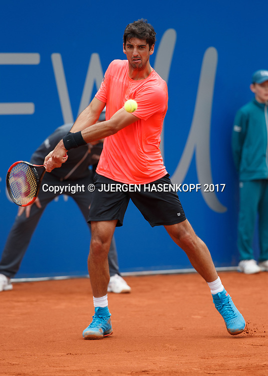 THOMAZ BELLUCCI (BRA)<br /> <br /> Tennis - BMW Open2017 -  ATP  -  MTTC Iphitos - Munich -  - Germany  - 3 May 2017.