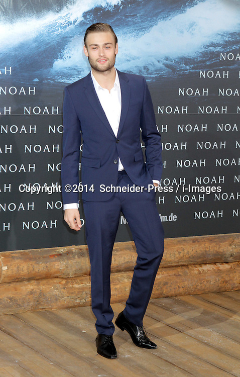 Douglas Booth attends the 'Noah' Germany Premiere at Zoo Palast, Berlin, Germany.Thursday, 13th March 2014. Picture by  Schneider-Press / i-Images<br /> UK & USA ONLY