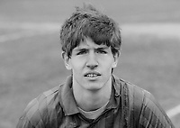 Stephen Baxter, footballer, Ards FC, N Ireland, March 1986, 19860302SB<br /> <br /> Copyright Image from Victor Patterson, 54 Dorchester Park, Belfast, UK, BT9 6RJ<br /> <br /> t1: +44 28 9066 1296 (from Rep of Ireland 048 9066 1296)<br /> t2: +44 28 9002 2446 (from Rep of Ireland 048 9002 2446)<br /> m: +44 7802 353836<br /> <br /> victorpattersonbelfast@gmail.com<br /> www.victorpatterson.com<br /> <br /> Please see my Terms and Conditions of Use at http://www.c1382010.myzen.co.uk/pdf/Terms%20&%20Conditions.pdf  It is IMPORTANT that you familiarise yourself with them.<br /> <br /> Images used on the Internet incur an additional cost and must be visibly watermarked i.e. ©Victor Patterson within the body of the image and copyright metadata must not be deleted. Images used on the Internet have a size restriction of 4kbs and are chargeable at rates available at victorpattersonbelfast@gmail.com.<br /> <br /> This image is only available for the use of the download recipient i.e. television station, newspaper, magazine, book publisher, etc, and must not be passed on to any third party. It is also downloaded on condition that each and every usage is notified within 7 days to victorpattersonbelfast@gmail.com.<br /> <br /> The right of Victor Patterson to be identified as the author is asserted in accordance with The Copyright Designs And Patents Act (1988). All moral rights are asserted.